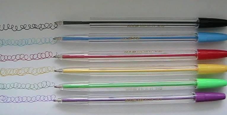 Собирать шариковые ручки